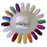 Biostyle barevný UV gel METALIC - metalický 5 ml