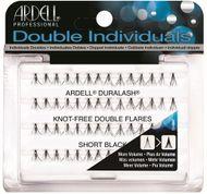 Ardell Double Individual Lashes Short - zdvojené, bez uzlíku, krátké