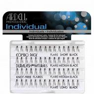 Ardell Individual Combo Pack - mix velikostí, bez uzlíku