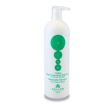 Kallos KJMN Deep Cleansing Shampoo šampon pro mastné vlasy 1000ml