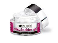 Enii nails UV GÉL French, modelovací, mléčně bílý 10 ml