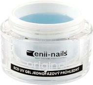 Enii nails UV GEL Originál jednofázový průhledný 10 ml